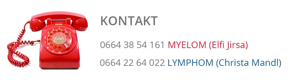 Myelom Lymphom Kontaktinformationen
