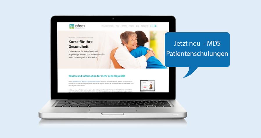 MDS Patientenschulungen jetzt verfügbar