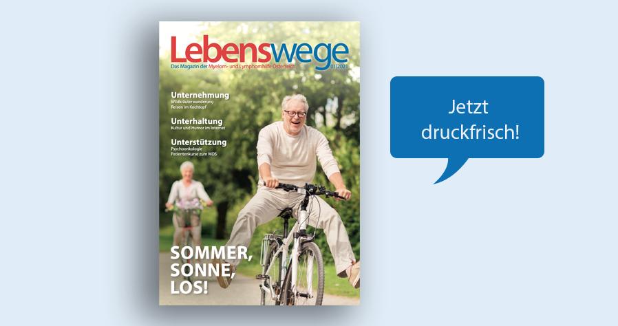 Das neue Lebenswege Magazin