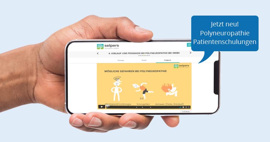 Polyneuropathie Patientenschulungen jetzt verfügbar